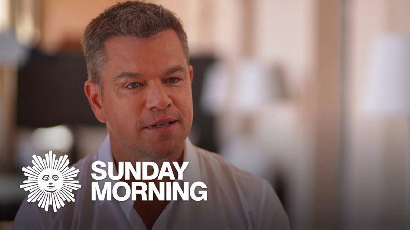 """Matt Damon on """"Stillwater"""" and a return to the movie theater"""