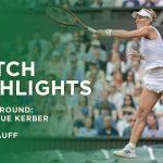 Angelique Kerber vs Coco Gauff | Fourth Round Highlights | Wimbledon 2021