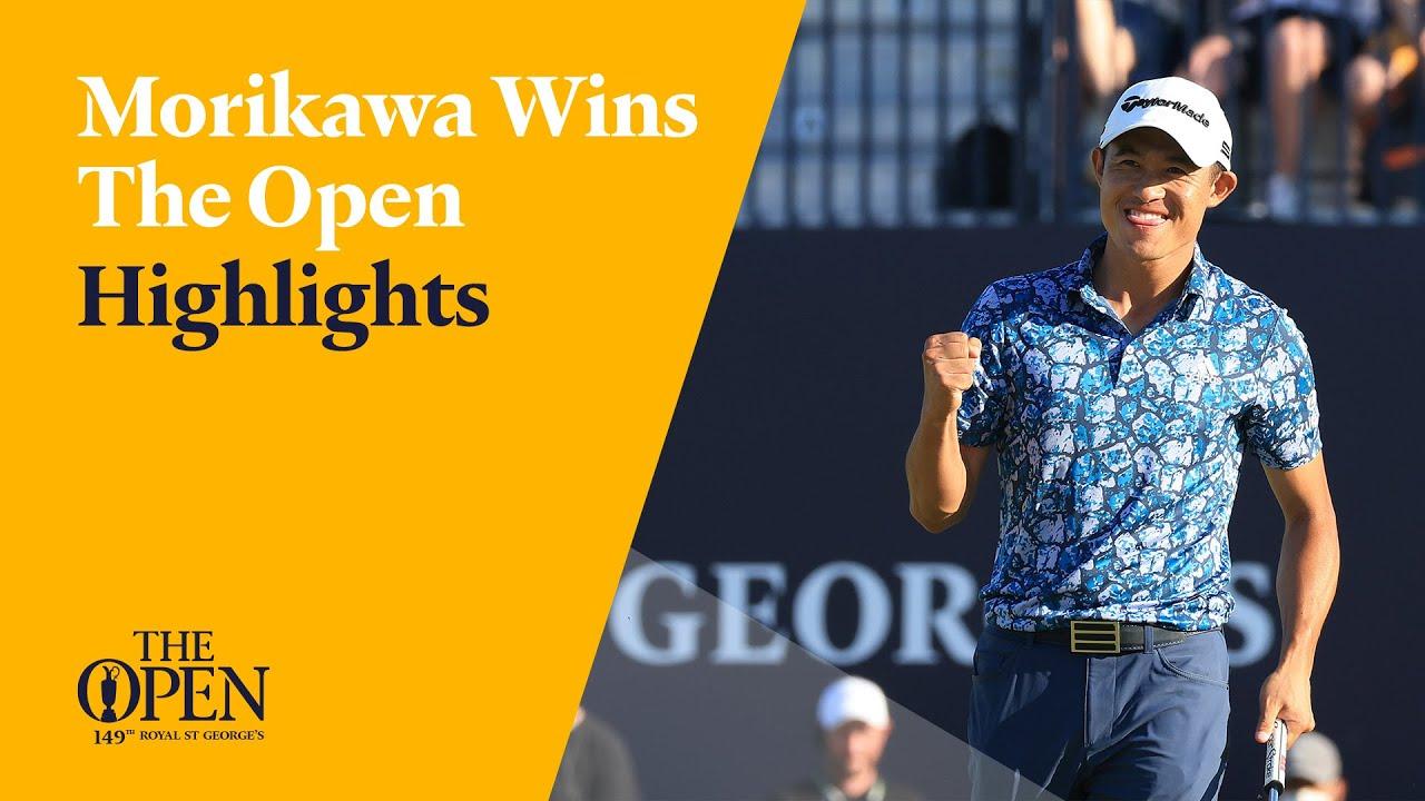 Collin Morikawa wins The Open   Full Highlights