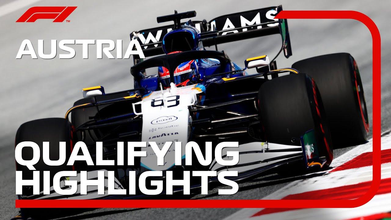 Qualifying Highlights   2021 Austrian Grand Prix
