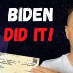 JOE BIDEN DID IT! Fourth Stimulus Check Update, New Student Loan Forgiveness, Unemployment Update