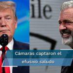 Critican a Mel Gibson por saludar a Donald Trump en evento de la UFC