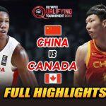 "CHINA VS CANADA ""FULL HIGHLIGHTS"" | JULY 1, 2021 | FIBA OLYMPIC QT 2021"