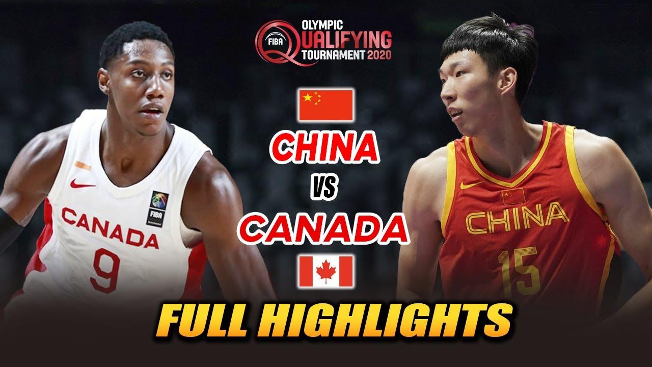 "CHINA VS CANADA ""FULL HIGHLIGHTS""   JULY 1, 2021   FIBA OLYMPIC QT 2021"