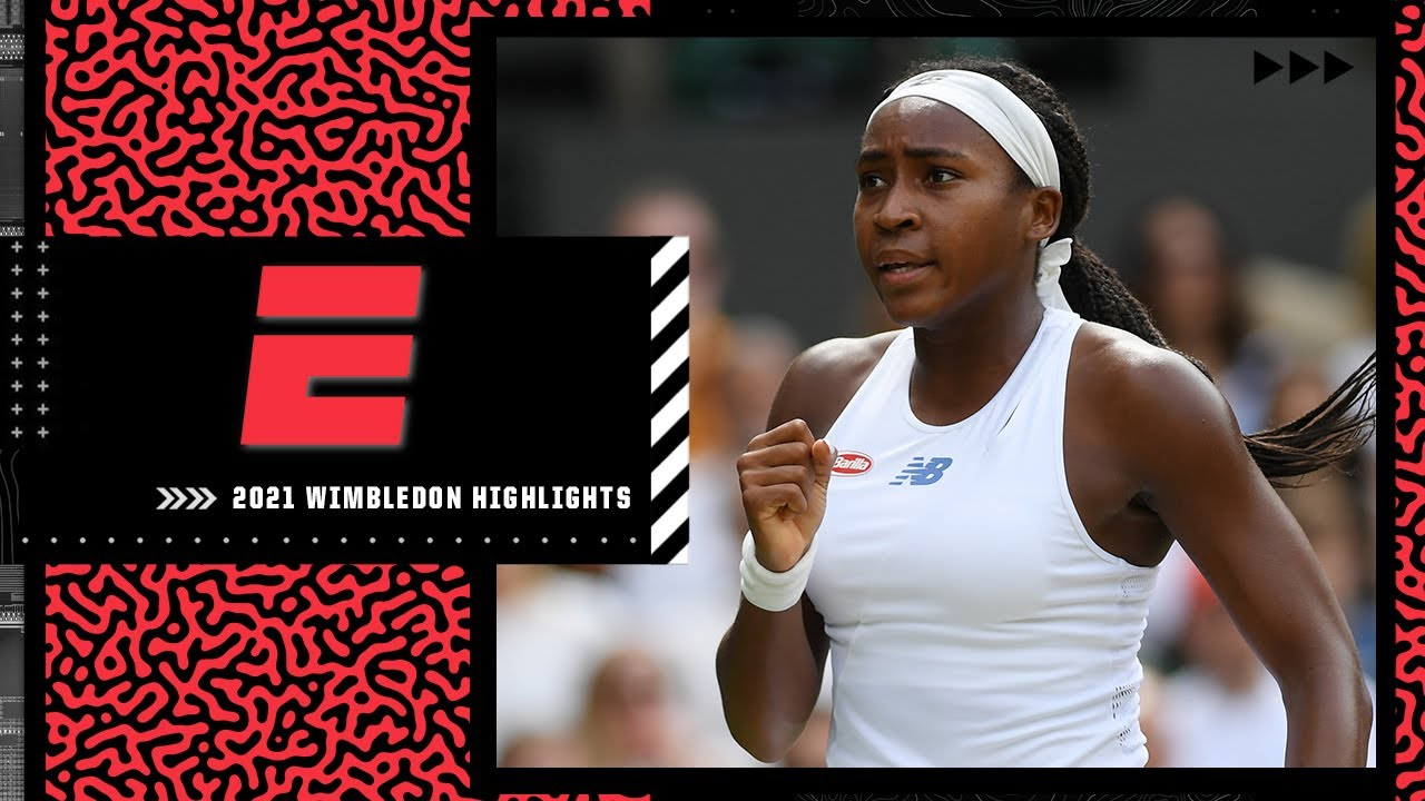 Coco Gauff advances to 4th round after straight-sets win over Kaja Juvan | 2021 Wimbledon Highlights