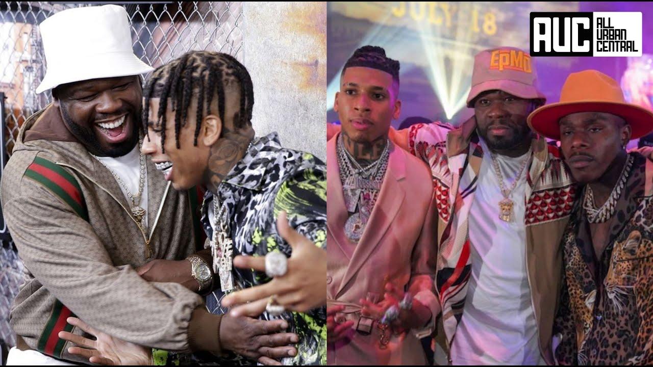 50 Cent Brings DaBaby & NLE Choppa To Power Raising Kanan Premier In NY