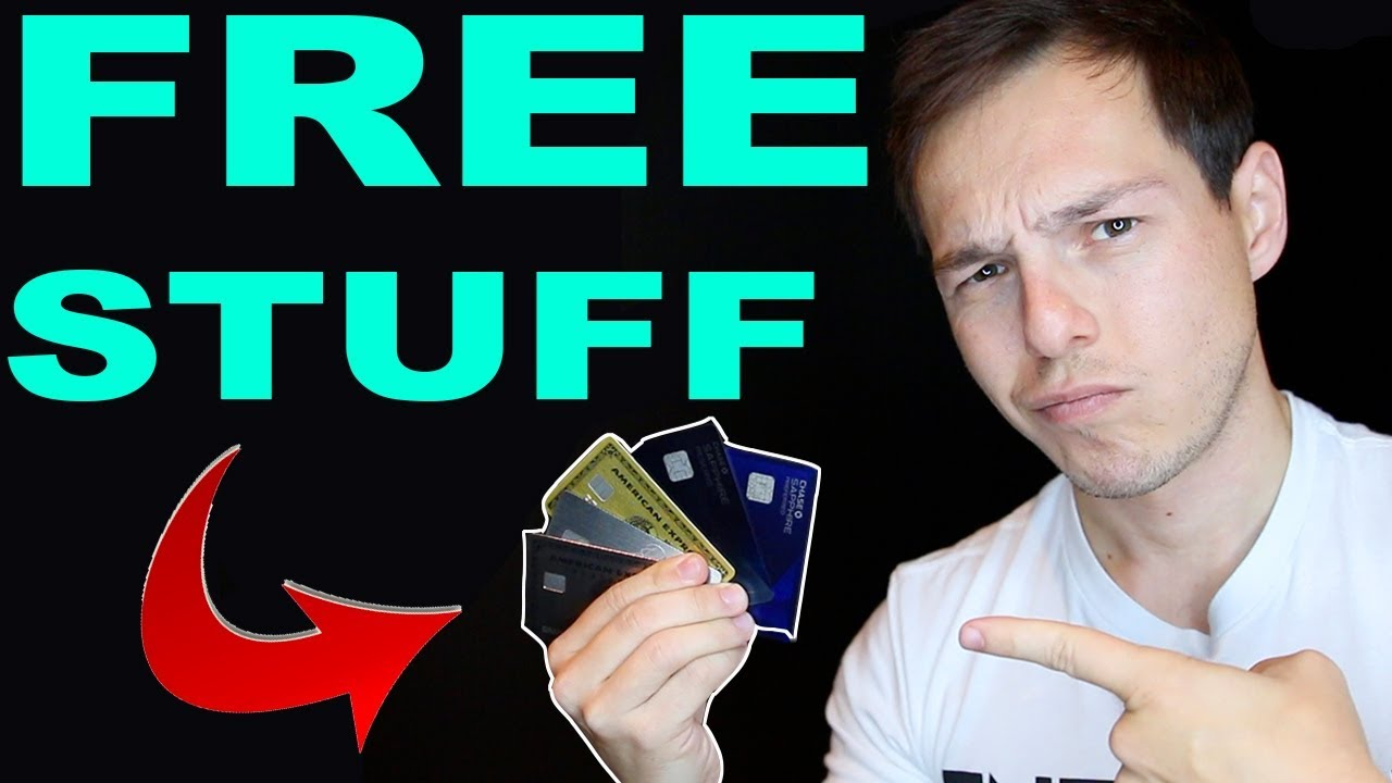 The TOP 5 BEST CREDIT CARDS for FREE STUFF