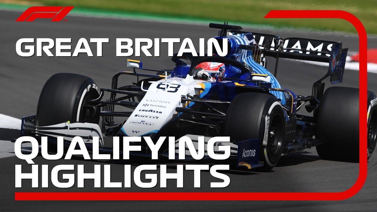 Qualifying Highlights   2021 British Grand Prix