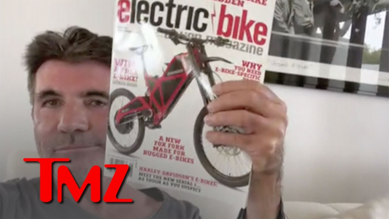 Simon Cowell Explains Difference Between New and Old Electric Bike   TMZ