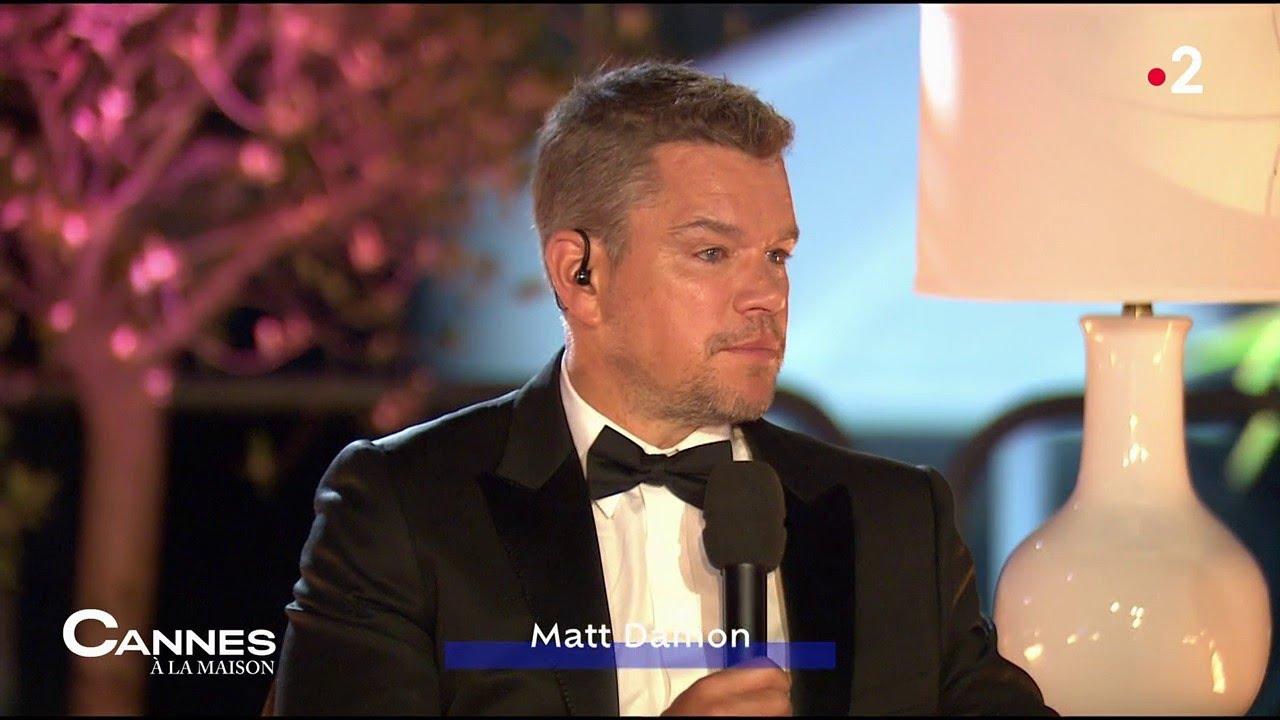 Camille Cottin & Matt Damon, la rencontre – Cannes A La Maison – 09/07/2021