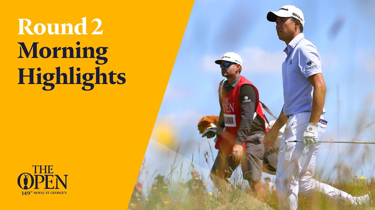 Collin Morikawa on a charge | Round 2 Morning Highlights from The 149th Open