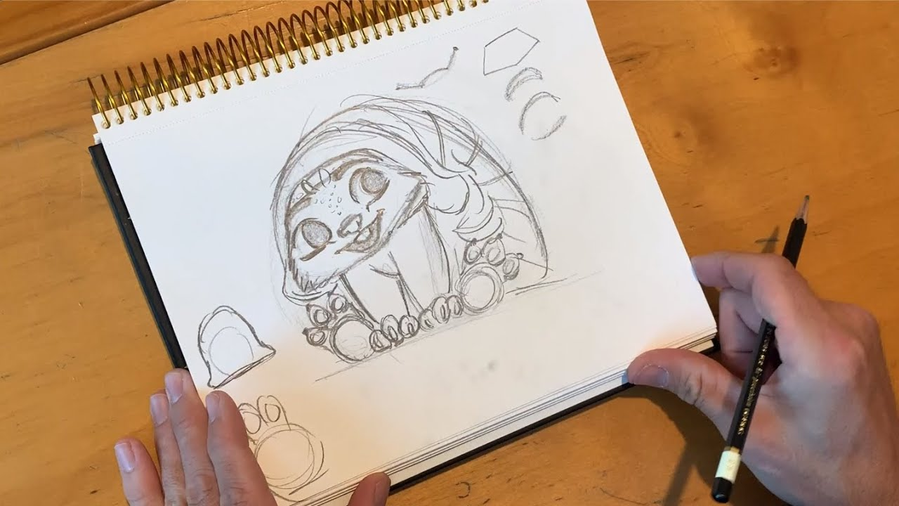 Raya and the Last Dragon | How to Draw Baby Tuk Tuk