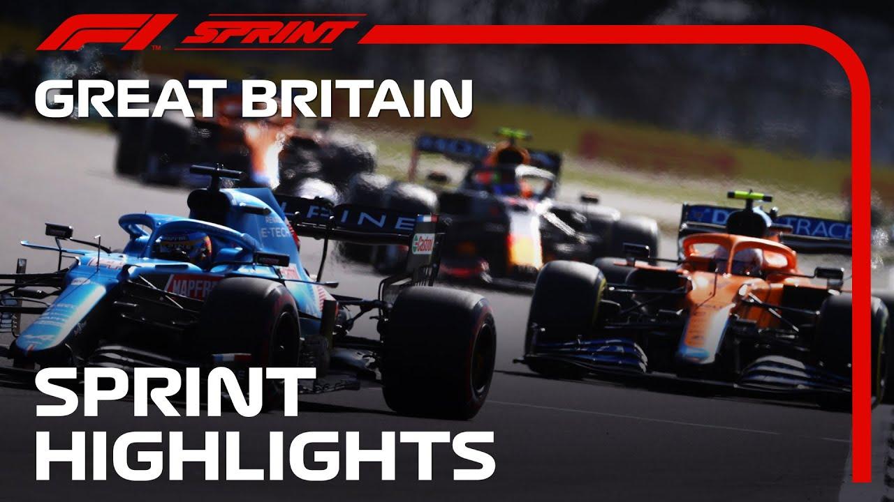 F1 Sprint Highlights   2021 British Grand Prix