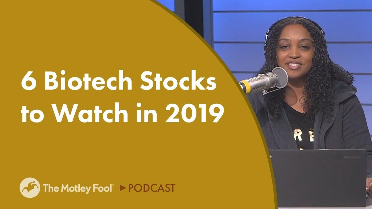 6 Biotech Stocks to Watch in 2019