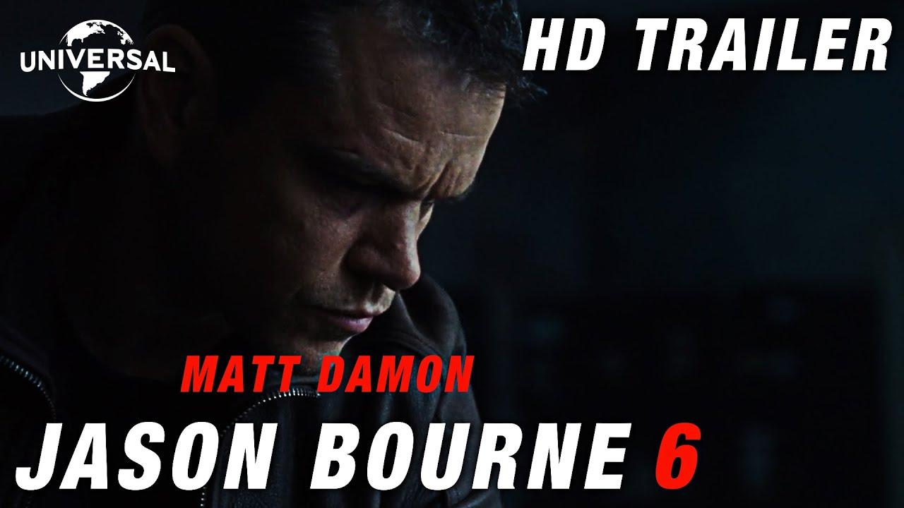 JASON BOURNE 6   Trailer HD #1 (2022) – Matt Damon, Alicia Vikander   Universal Studios Concept