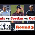Jordan vs Collin vs Louis | The Open Championship Round 3
