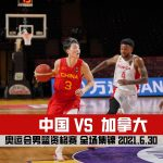 Olympic Men's Basketball Qualifying Tournament   China VS Canada   Full Game Highlight   2021.6.30