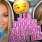 Jennifer Lopez DODGES Hoda Kotb's Question About Ben Affleck | Daily Pop | E! News