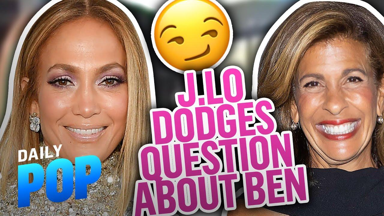 Jennifer Lopez DODGES Hoda Kotb's Question About Ben Affleck   Daily Pop   E! News