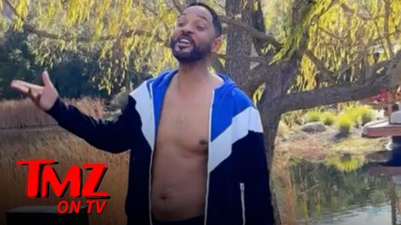 Will Smith Shares Photos Of His Quarantine Body | TMZ TV