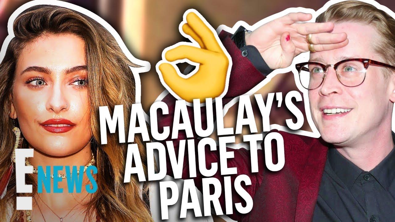 """Macaulay Culkin Helped Paris Jackson Ace Her """"AHS"""" Audition   E! News"""