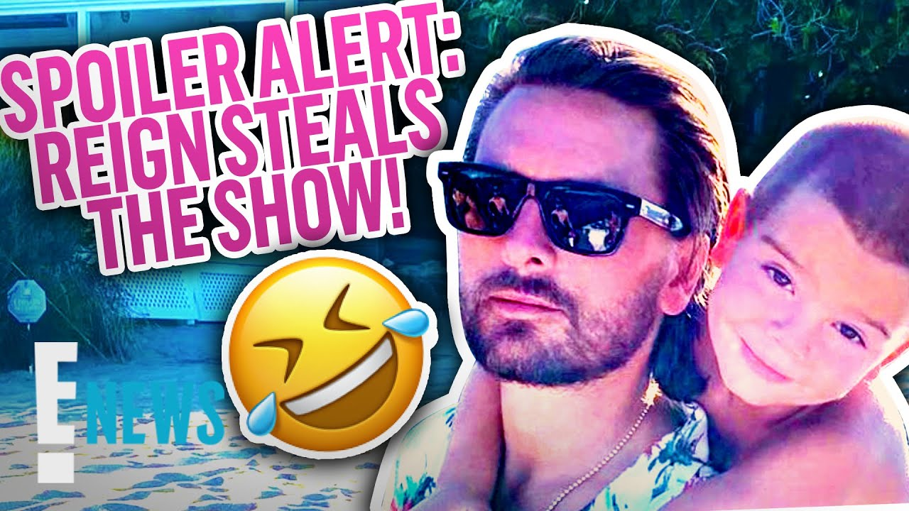 Reign Disick Is a Whole Mood on Family Vacation | E! News