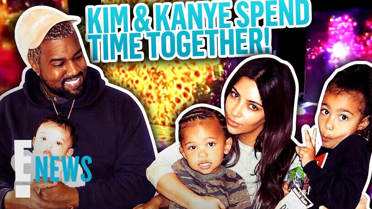 Kim Kardashian & Kanye West's Museum Trip With 4 Kids   E! News