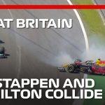 Verstappen & Hamilton Collide On Lap 1   2021 British Grand Prix