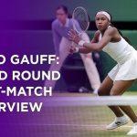 Coco Gauff Third Round Post-Match Interview | Wimbledon 2021