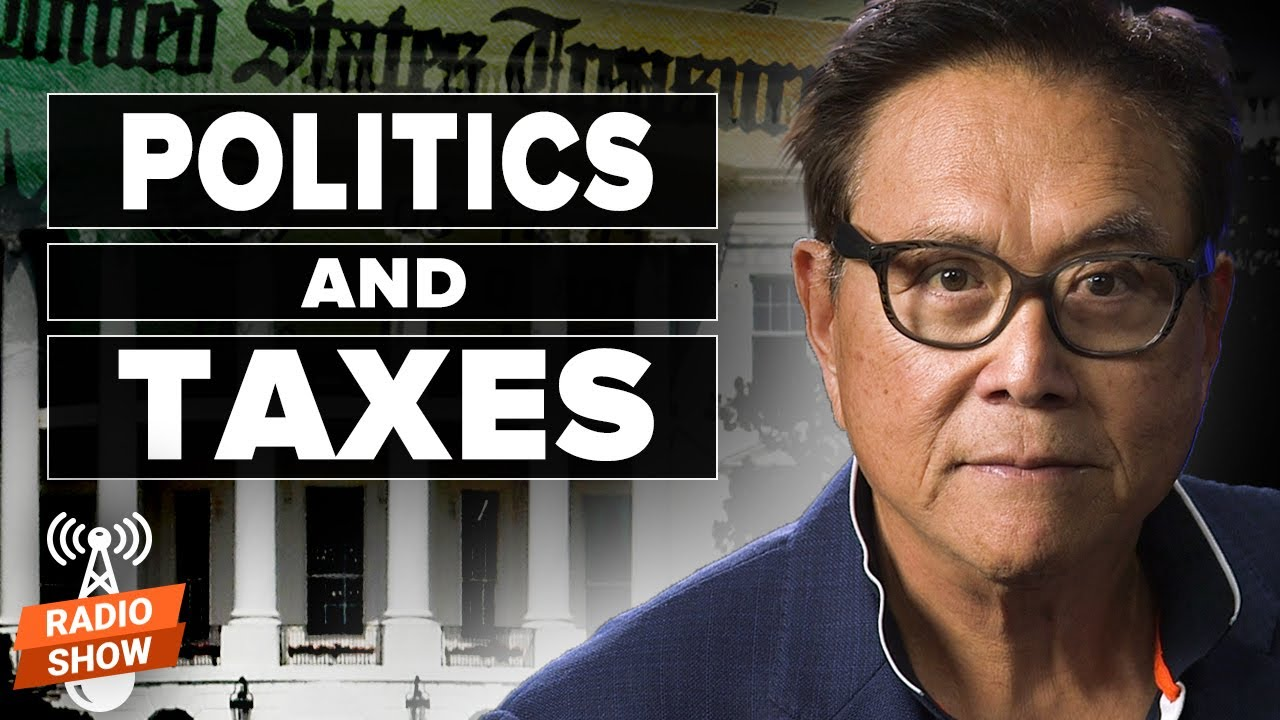 Political Tactics: Taxation, Stagflation, Devaluation – Robert and Kim Kiyosaki & Tom Wheelwright