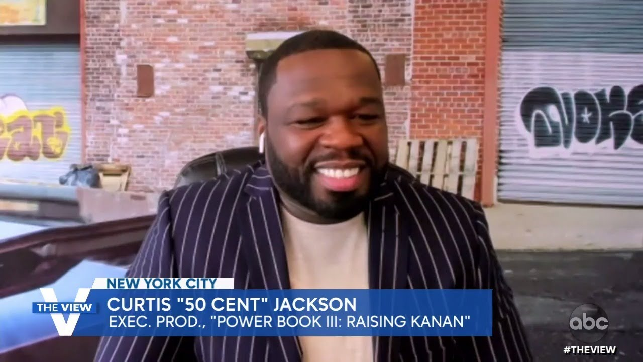 """50 Cent on Parallels Between Personal Experience and """"Power Book III: Raising Kanan""""   The View"""