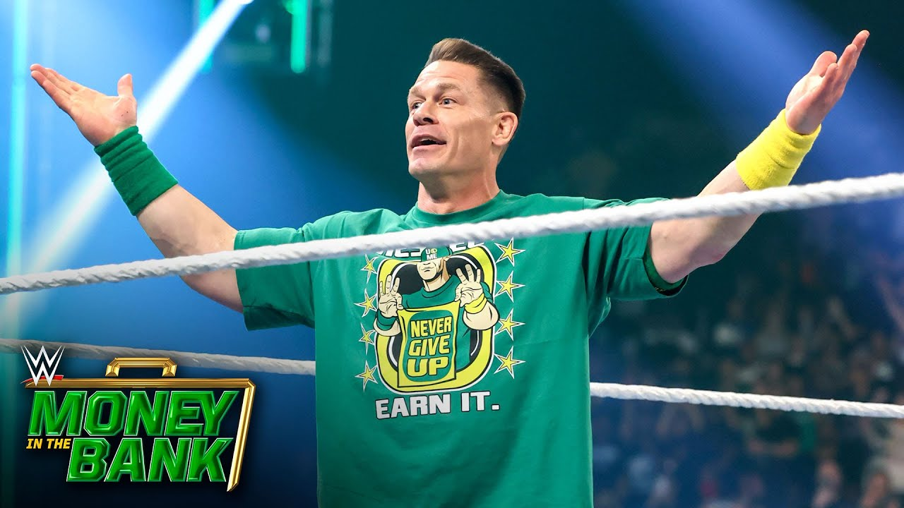 Cena makes shocking WWE Money in the Bank return: WWE Money in the Bank 2021 (WWE Network Exclusive)