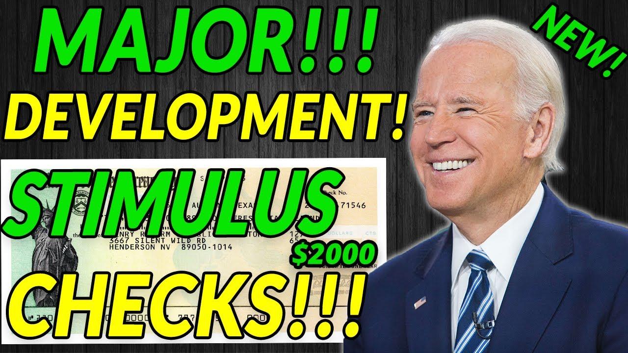 MAJOR DEVELOPMENTS! FOURTH Stimulus Check $1000 & $2000 Update! Student Loan Forgiveness, Daily News