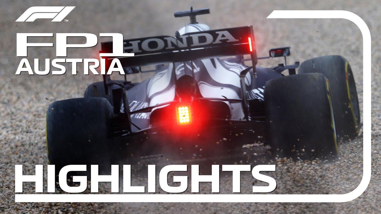 FP1 Highlights | 2021 Austrian Grand Prix