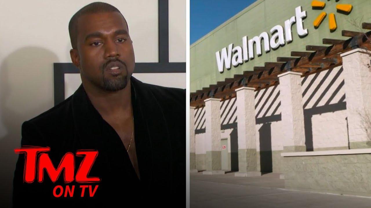 Walmart Blasts Kanye West's New Logo As A 'Lookalike' | TMZ TV
