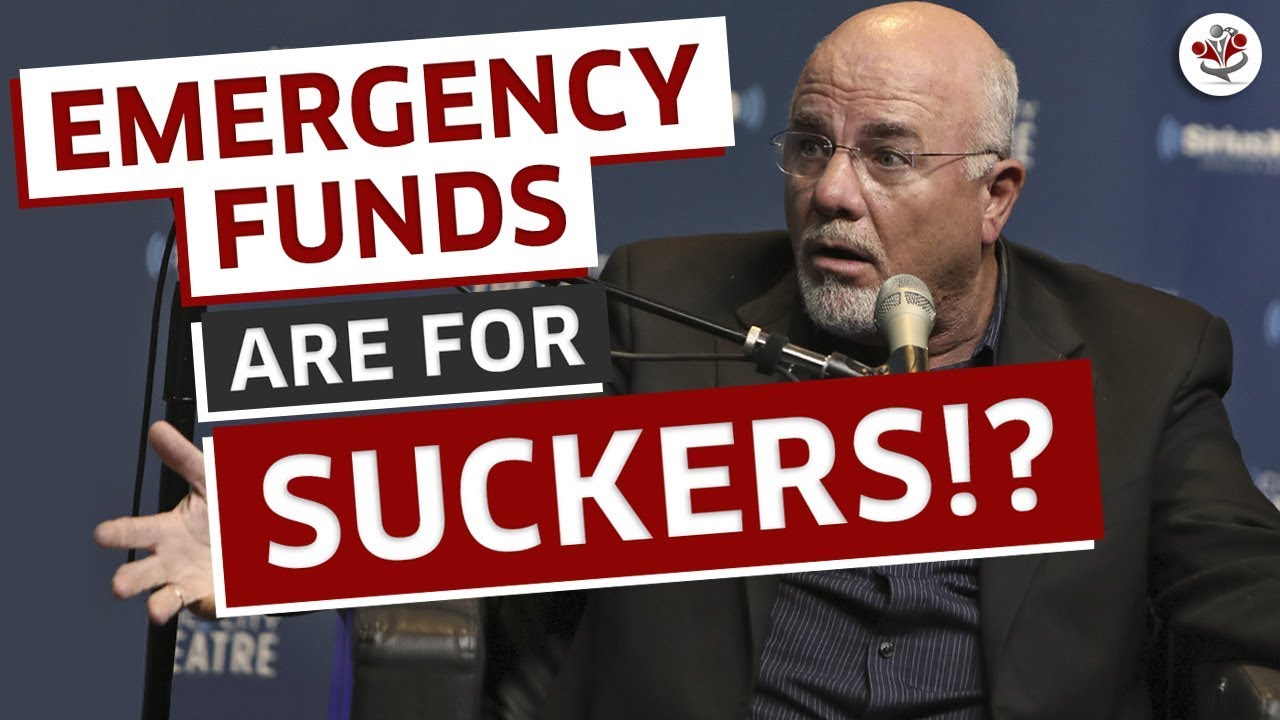 That DAVE RAMSEY Emergency Fund is Holding You Back!!