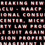 ACLU SUES VISION PROPERTY MANAGEMENT LLC
