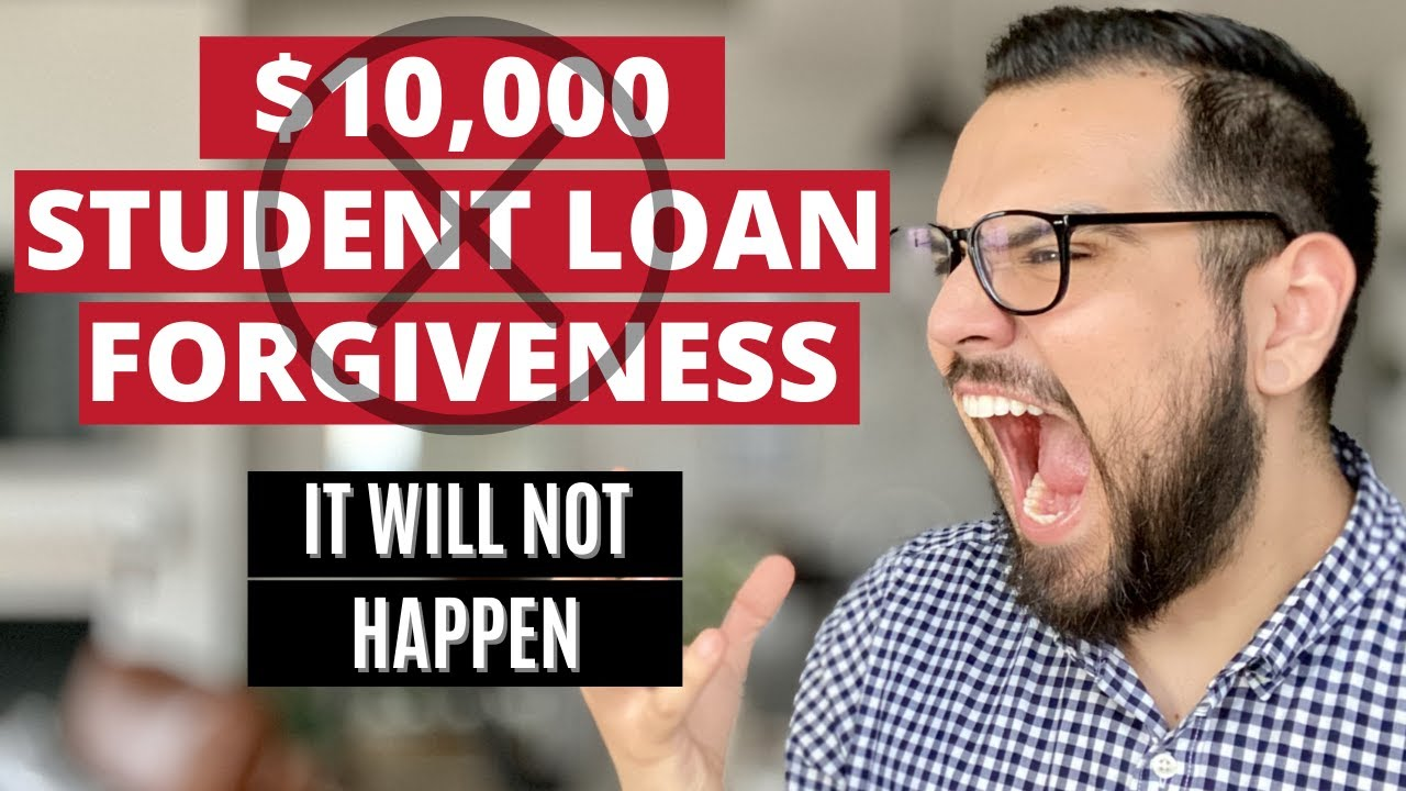 5 REASONS I DO NOT BELIEVE STUDENT LOAN FORGIVENESS WILL HAPPEN IN 2021! Was Dave Ramsey right??