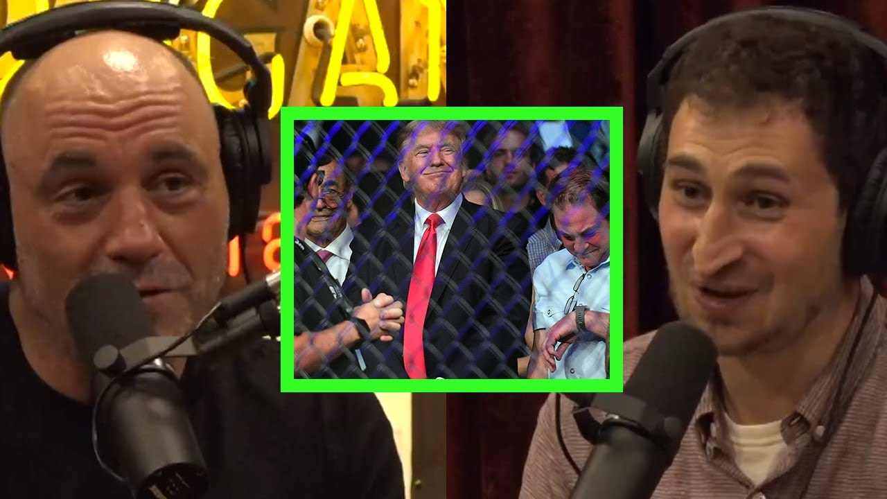 Joe on Briefly Meeting Trump at the UFC