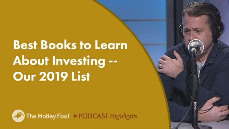 Best Books to Learn About Investing — Our 2019 List