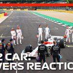 2022 F1 Car Launch Event | Driver Reaction
