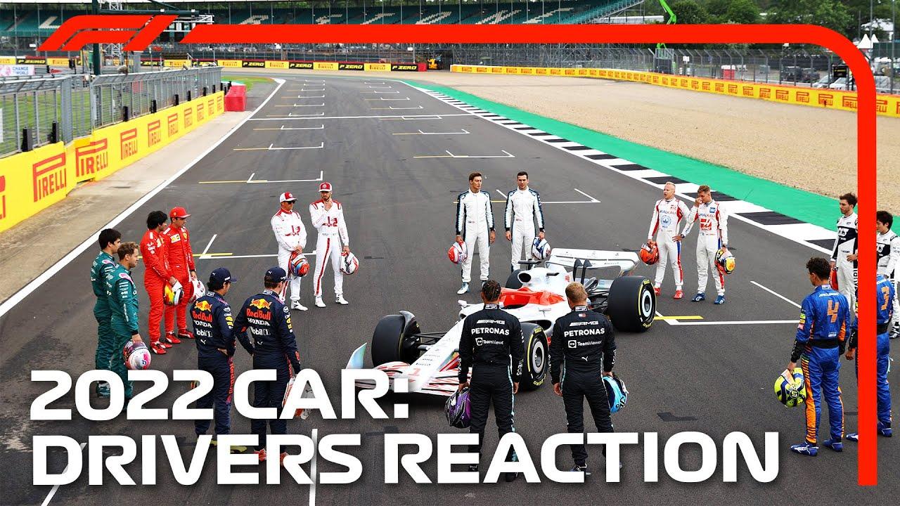 2022 F1 Car Launch Event   Driver Reaction