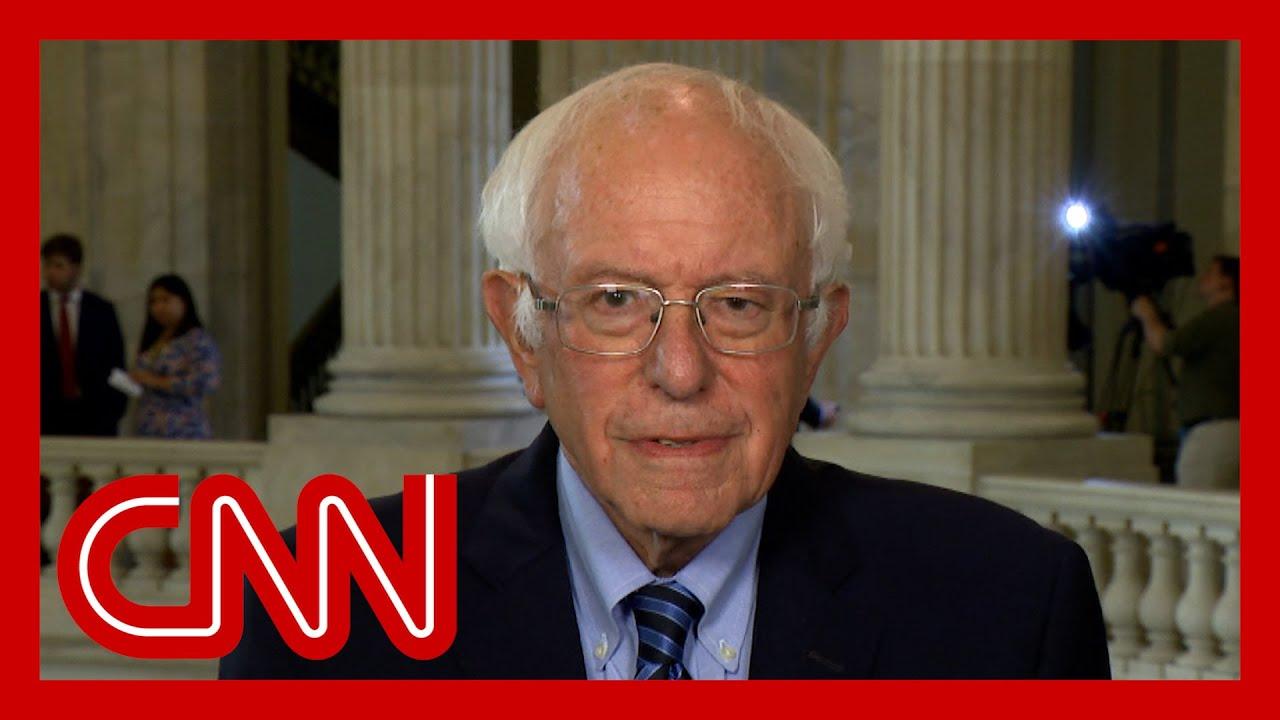 'Inflation is a real concern': Bernie Sanders on spending plan