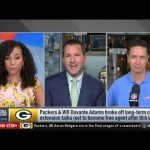 Aaron Rodgers - NFL Total Access | James Jones reacts  Aaron Rodgers and Packers agree with 2-yrs deal contract