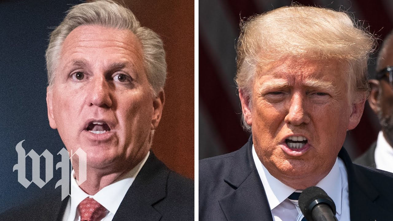 What McCarthy and Trump have said about their Jan. 6 call