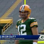 Aaron Rodgers - Aaron Rodgers expected at Packers training camp