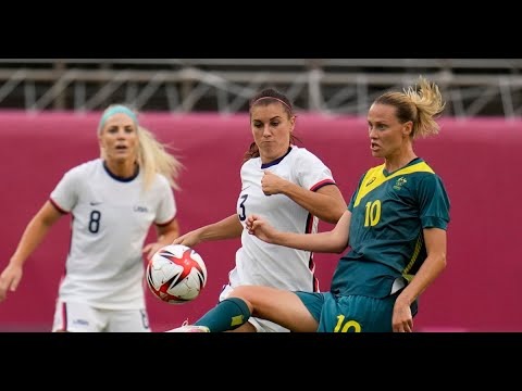 U.S. women's soccer – USWNT ties with Australia advances to soccer knockouts