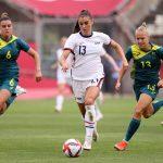 U.S. women's soccer - USA vs. Australia | Tokyo Olympics 2020: Women's Soccer Highlights | NBC Sports