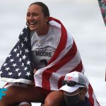Carissa Moore - Carissa Moore: Winning gold for USA 'bigger than myself' | On Her Turf: Tokyo Olympics | NBC Sports