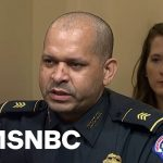 Officer Gonell Slams Trump's Comments: 'I'm Still Recovering From Those Hugs And Kisses'